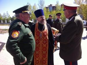 Присяга казаков ТГКО. 15.05.2016
